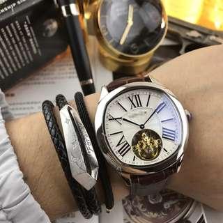『風靡』爆款經典微方男士高檔瑞士陀飛輪全自動機械手錶