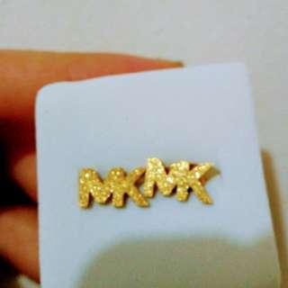 Michael Kors inspired earrings non tarnish