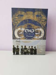 Infinite destiny in america production dvd