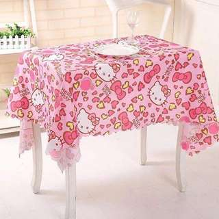 Hello Kitty My Melody Stitch Little Twin Star Table Cloth