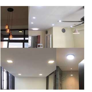 Electrical Services, Installation Fan, Ceiling Light