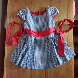 Periwinkle Birthday Photoshoot Dress ootd sunday dress 24m 2t