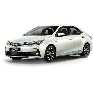Toyota Altis 2016 1.6L