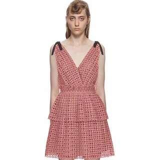 Self-Portrait Pink Dress