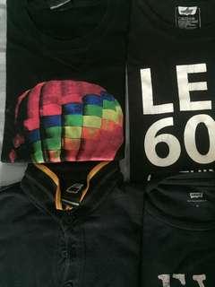 Cuci gudang tshirt M & L