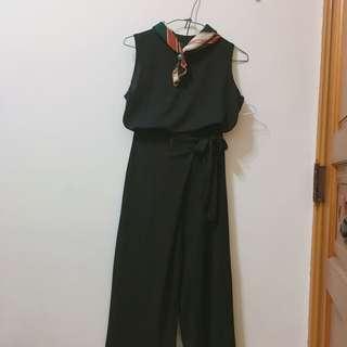 涼感棉質套裝 (背心+上衣)