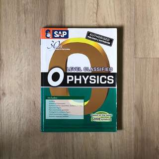 O Level Physics Topical TYS (1998-2008)