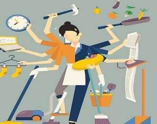 Pekerja sementara wanita 28-45 years old age