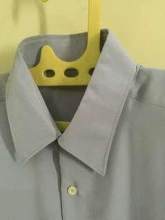 Shirt grey size L