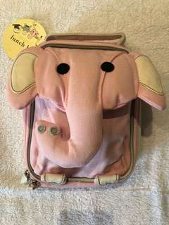 Pottery Barn Kids Elephant Lunch Bag