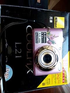 Nikon 尼康數位相機COOLPIX L21