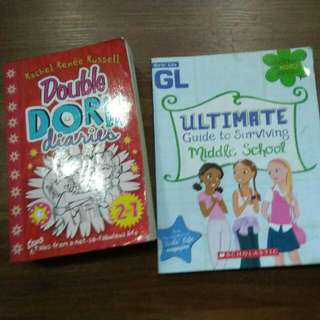 Double Dork Diaries & Ultimate Guide To Surviving Middle School