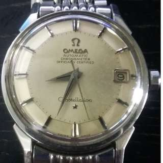 Omega SS piepan with orginal Bracelet