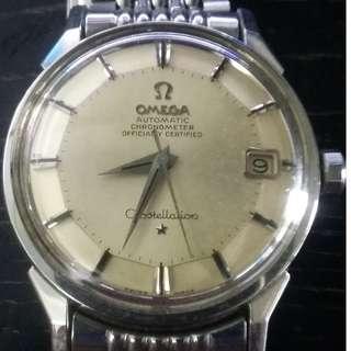 Omega SS piepan with orginal Bracelet