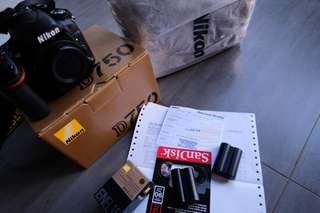 Nikon D750 body only with waranty 2years