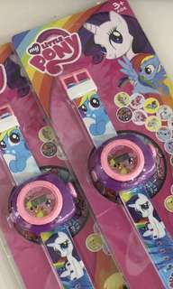 Projector watch (pony) - children birthday goodies favors, toys, goody bag gift