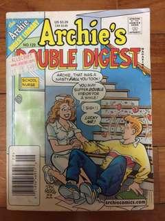 Archie comic no 129