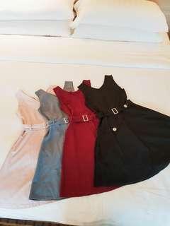 ▶READY STOCK◀ Fashion Korean Womens Sleeveless Casual or paety dress