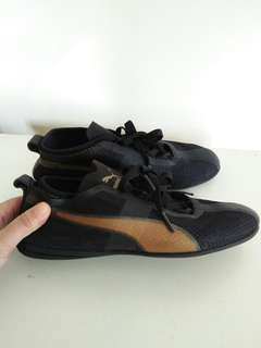 ORIGINAL AUTHENTIC PUMA ESKIVA LOW EVO BLACK GOLD