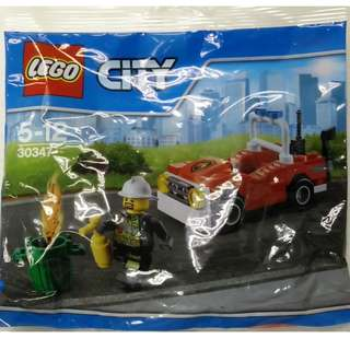 LEGO CITY Firemen and Firecar Polybag (30347)