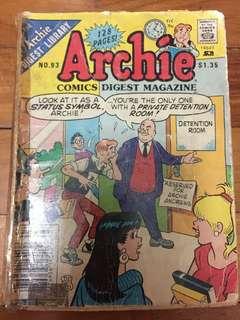 Archie comic no 93