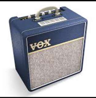 Price Reduced! VOX AC4 C1 BL valve Guitar Amp