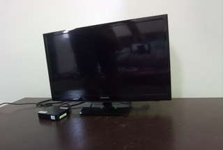 "24"" Samsung LED TV"