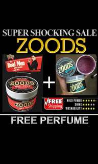 Hari Raya Sale Begins[The Zoods Combo Set Pomade Waterbased Stronghold]