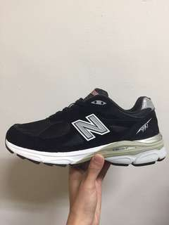 NB M990BK3 復古潮鞋 余文樂著用款 US:9.5 27.5cn
