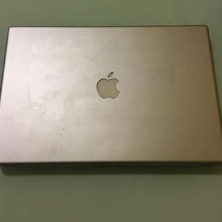 "Apple MacBook Pro 08 15"" No Battery 200 GB With Charger"