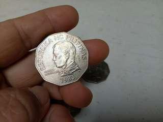 Andres Bonifacio,2 Peso Coin,Cocos Nucifera