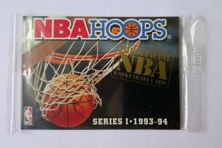 (全新未拆)NBA HOOPS 93-94 無 Number REDEMPTION SET