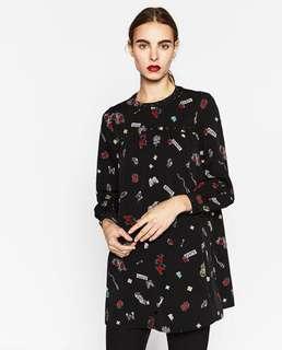 Price reduced ⚡️BNWOT Zara long tunic (metal studs)