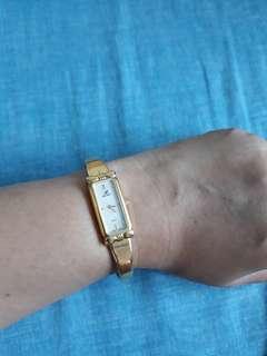 Nina Ricci bangle watch