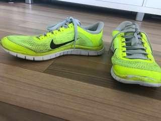 Nike Free Run 3.0 Bright Yellow
