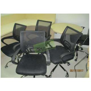 MESH EXECUTIVE CHAIRS STAFF CHAIRS, VISITORS CHAIRS 4 LEGGED