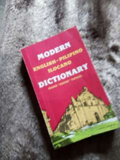 English-Pilipino-Ilocano Dictionary