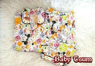 Piyama / Baju Tidur / Pajamas Katun Jepang Baby Tsum