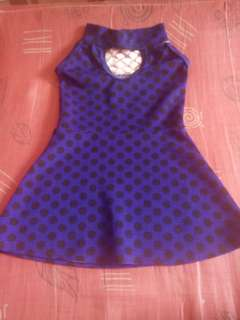 Preloved Polka Dots Dress