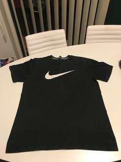 VINTAGE Nike Big Swoosh Tee (XL)