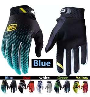 Motorcycle Racing Gloves 100% Snug Fit Motorbike