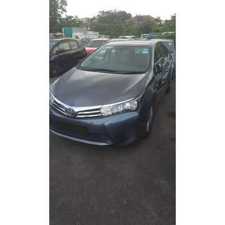 2017 Toyota Altis For Rent! Grab / Long Term Personal Usage Welcome! $500 Deposit To Driveaway!