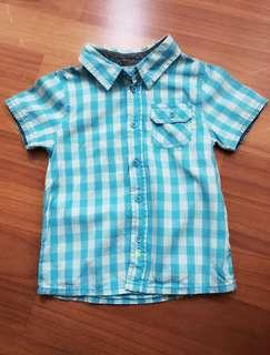 🚚 二手Esprit男童裝 (9成新)❤️ 襯衫式 品牌童裝 100公分可穿(國外版型)