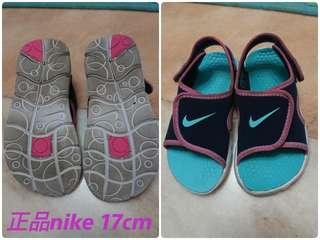 Nike涼鞋17cm