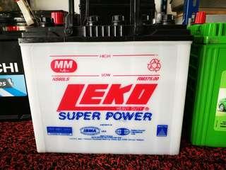 Bateri kereta NS60L wet