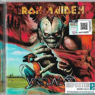 IRON MAIDEN Virtual XI Imported CD