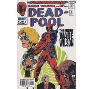 DEADPOOL #-1 (1997) Flashback