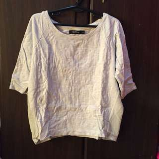 Folded & Hung Fabulous 3/4 sleeves top