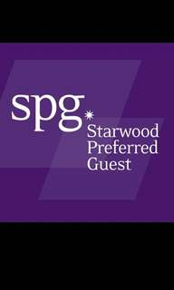 Starwood Hotels SPG benefits *upgrade to even suites*