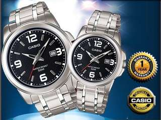 CASIO Couple Watch (pair) (10% Discount)